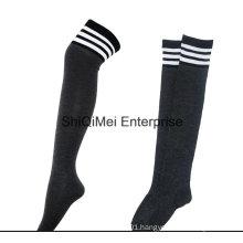 Customize Wholesale Students Dress Long Knee High Socks