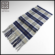 Super Soft 100% Acrylic Checked Scarf