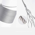304 stainless steel wire rope 7x19 12.0mm