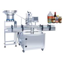 Machine de capsulage de bouteilles ronde rotative automatique