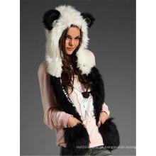 Mulheres Inverno Imitar Animal Softextile Faux Fur tecido tecido