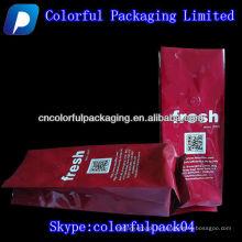 Sac de haute qualité / café avec soupapes / gousset latéral / Pour café torréfié torréfié