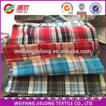 Hilo teñido de algodón poliéster camisa tela textil tela de la prenda Para Camisa 100% Hilado de Algodón Teñido de Ver ...