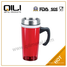 Single bpa free plastic clear cup