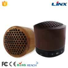 Portable Hand-free Wireless Mini Bamboo Bluetooth Speaker