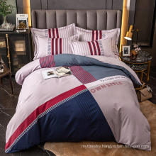 Hot Sale High Quality Bedding Cotton Printed Soft for King Bed Sheet Set