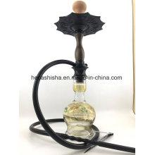 Garfield Style de qualité supérieure Wood Nargile Smoking Pipe Shisha Hookah