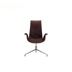 Walter Knoll High Back Bucket Lounge Chair