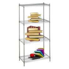 DIY Chrome Metal Wire livro Rack (CJ13535180A4C)