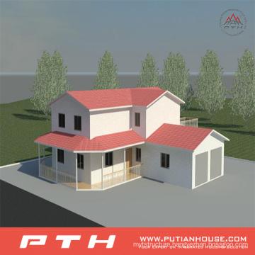 Prefab Light Steel Villa House Building Project