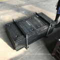 Revestimiento de la tolva del transportador de banda con recubrimiento de carburo de cromo