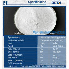 Additifs chimiques de construction de RDP poudre de polymère redispersible