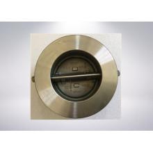 Doppelplatten-Rückschlagventil mit Edelstahlgehäuse