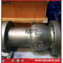 Customize Length Stainless Steel Axial Flow Check Valve