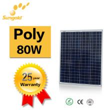 Poly Solar Panel 80W Eigene Fabrik Power System