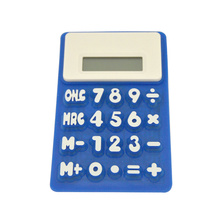 8 Digit Flexible Silicone Calculator