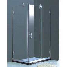Cuarto de baño Frameless recinto de ducha simple rectangular (H011B)