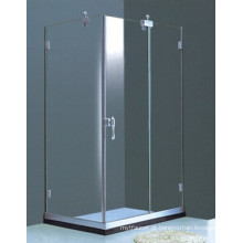 Casa de banho Frameless retangular simples chuveiro (H011B)