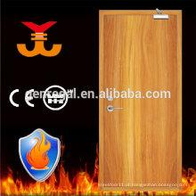 O fogo do hotel da alta qualidade BS476 avaliou portas únicas da madeira