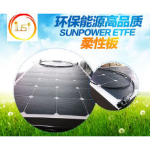 Módulo de panel solar Sunpower Flexible Bendable de 100W ETFE