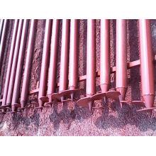 Pila de tornillo / anclajes de tierra / anclajes mecánicos