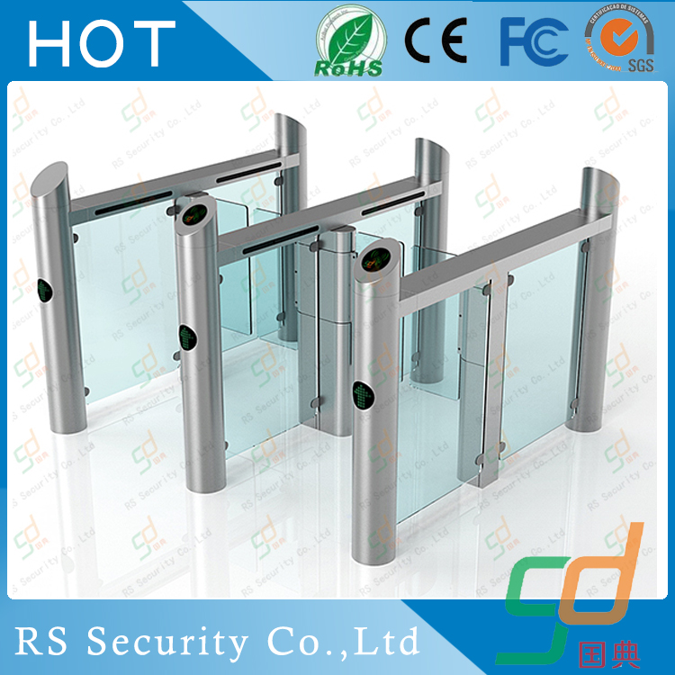 Pedestrian Guesthouse ODM Glass Turnstile Software