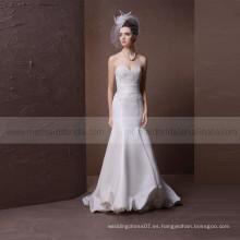 Vestido de boda atractivo de la sirena del satén
