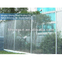 galvanized industrial safety fence