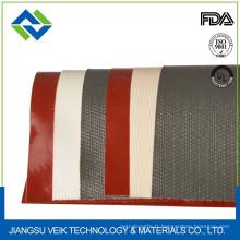 Rideau de tunnel de rétrécissement de fibre de verre de caoutchouc de silicone 0.5mm résistant à la chaleur