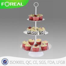 3 яруса 15PCS эко-десерт пластина