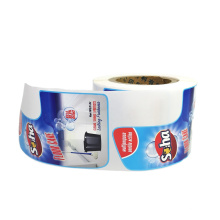 Factory Price Waterproof Industrial Label Adhesives Self Adhesive Label Sticker For Detergent Bottles