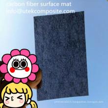 Tapis de surface en fibre de carbone à résistance à l'abrasion 30GSM