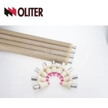 OLITER de inmersión rápida hotsale tipo s punta de termopar desechable para acero fundido 604 triángulo conector