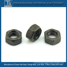 China Supplier Specilize Carbon Steel Black Hex Nuts
