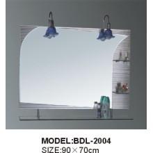 Miroir de salle de bain en verre d'épaisseur 5 mm en épaisseur (BDL-2004)