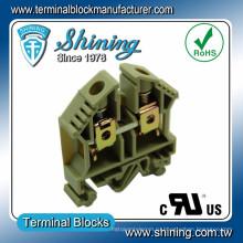 ТФ-16 35мм DIN-рейку 600В 65А винт струбцины разъема провода