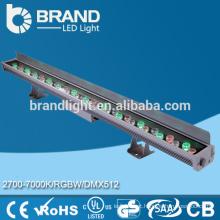 CE RoHS, luz decorativa decorativa do diodo emissor de luz da ponte, arruela de parede linear 24W