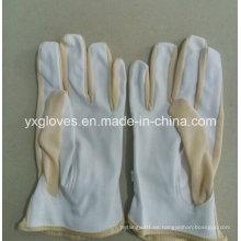 Guante de cuero sintético-guante de trabajo-guante de seguridad-guante de guante-trabajo barato