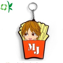 Custom Soft PVC Cute Design Cartoon Figur Keychain