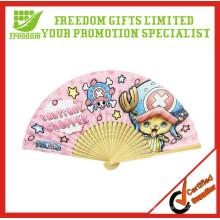 Promotion Custom Logo Günstige Papierhand Fan