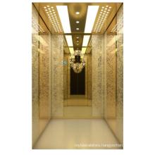 Rational construction 450KG-2000KG loading decoration cheap home elevator passenger elevator