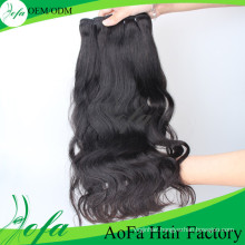 100% Human Virgin Hair Mongolian Hair Weaving