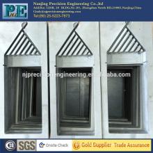 Nanjing OEM cnc mecanizado de piezas de plástico, cnc fresado ABS placas