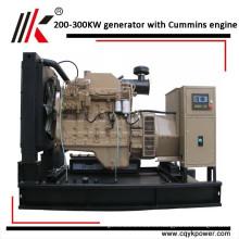 China hizo 300kva cums generadores diesel de generador trifásico en iraq con motor chino