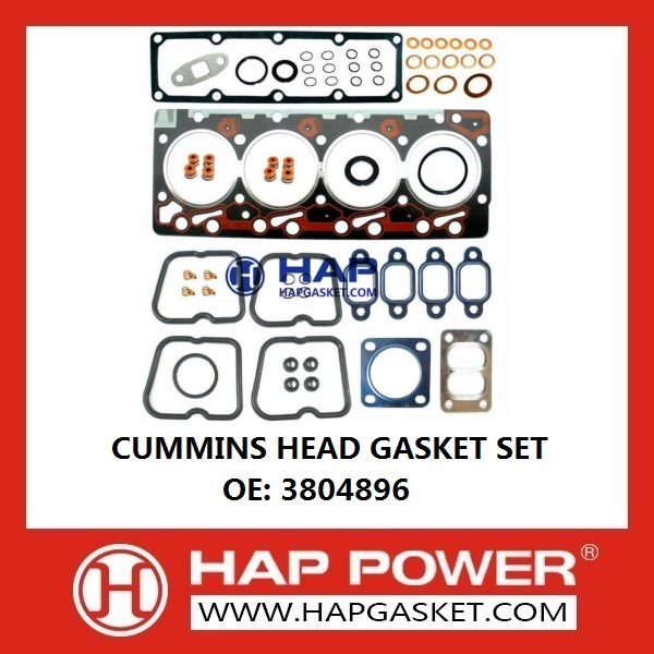 CUMMINS Head Gasket Set 3804896