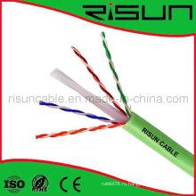 Неэкранированный сетевой кабель CAT6 с курткой из ПВХ LSZH / Lsoh