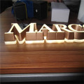 Bloque 3D personalizado Mini Light Up Letters