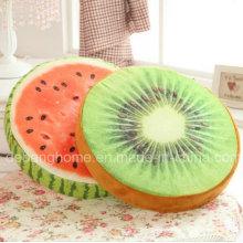 Travesseiro de frutas 3D criativo almofada de pelúcia confortável