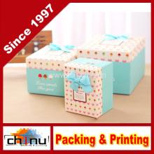 Papier Geschenkbox / Papier Verpackung Box (110245)