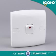 Certificado Igoto Saso Interruptor de pandillas de neón 1 luz